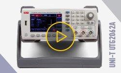 Видеообзор генератора сигналов UNI-T UTG2062A