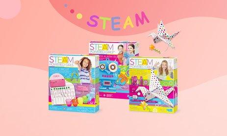 Дівчачі STEAM-розваги на Toys4brain