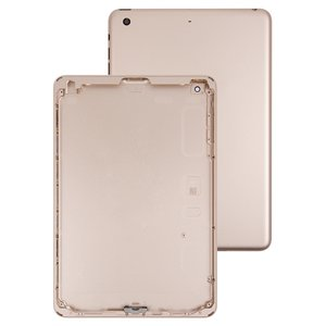 Back Cover compatible with iPad Mini 3 Retina, (golden, (version Wi-Fi))