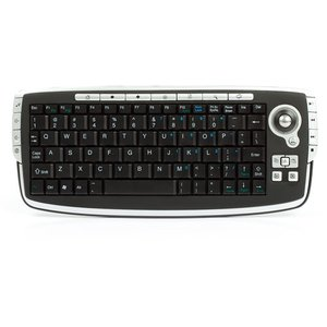 2.4 GHz Wireless Mini Keyboard with Trackball