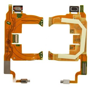 Flat Cable for Sony Ericsson T707 Cell Phone, (speaker, with components)