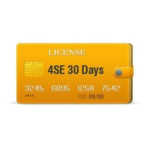 4SE 30 Days License