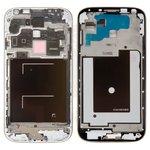 LCD Binding Frame Samsung I9505 Galaxy S4, (silver)