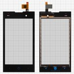 Touchscreen for ZTE V815W Kis 2 Cell Phone, (black)