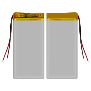Battery, (60 mm, 33 mm, 3.2 mm, Li-ion, 3.7 V, 700 mAh)
