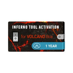 Inferno Tool 1 Year Activation for Volcano Box