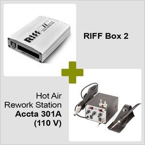 RIFF Box 2 + Hot Air Rework Station Accta 301A (110 V)