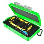 Bobina de compensación con cable para reflectómetro (OTDR) ORIENTEK FL-OTDR-BOX-MM20