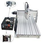 Máquina fresadora CNC de sobremesa de 3 ejes ChinaCNCzone 6040 (800 W)