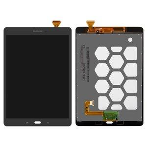 Pantalla LCD para tablet PC Samsung T550 Galaxy Tab A 9.7 , T555 Galaxy Tab A 9.7 LTE, gris, con cristal táctil