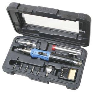 Газовый паяльник с набором аксессуаров Pro'sKit GS-200K