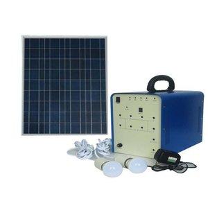 Портативна сонячна електростанція DC 100 Вт, 12 В / 50 Аг, Poly 18 В / 100 Вт