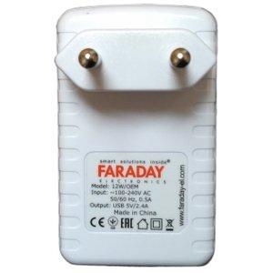 AC/DC-перетворювач Faraday WM 12 Вт, 5 В, 2 А