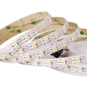 Світлодіодна стрічка SMD5050 (біла, монохромна, з управлінням, IP20, 5 В, 60 діодів/м, 1 м)