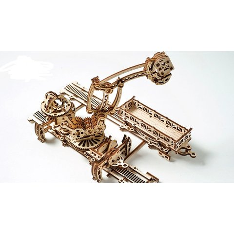 Mechanical 3D Puzzle UGEARS Rail Manipulator - /*Photo|product*/